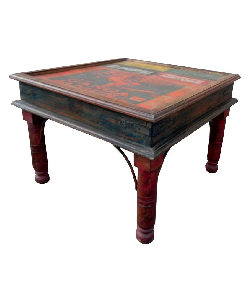 Wooden Coffee Table Buy Wooden Coffee Table Online At Best Prices In India On Snapdeal