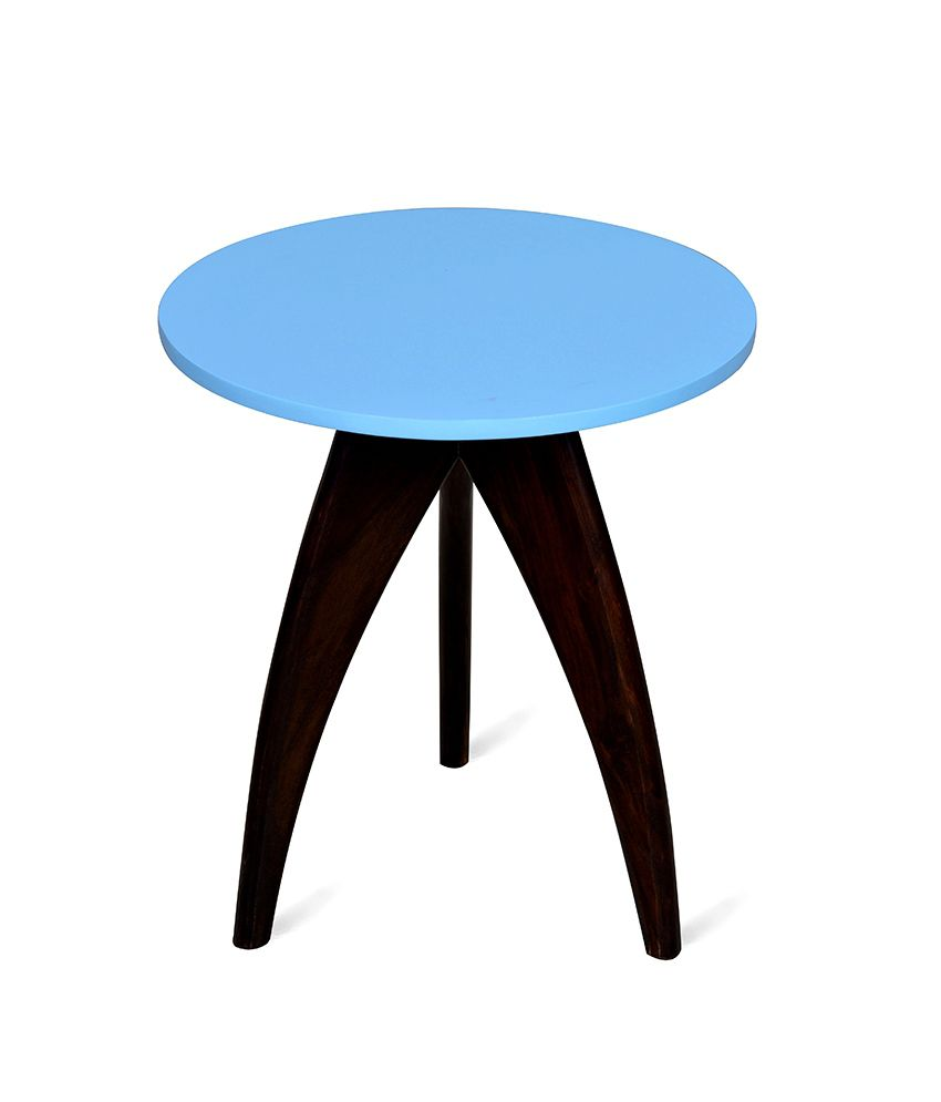 Cadero Side Table Blue