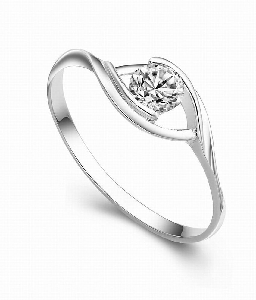 designer female ring in 925 silver by amantran jewels