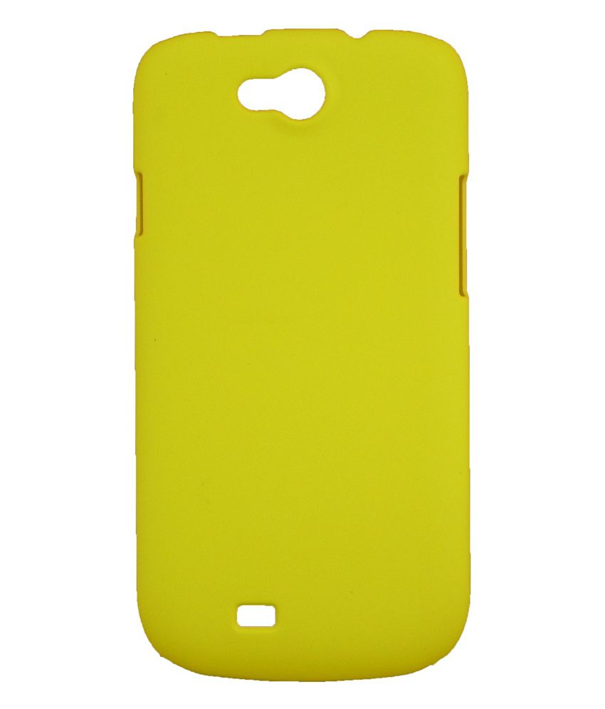 newest collection cdf93 f9be4 Fcs Back Cover Cases For Micromax Canvas Elanza A93 - Yellow