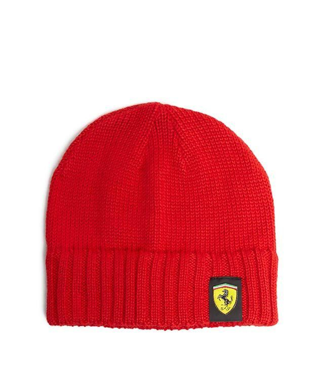 Puma Red Woollen Skull Cap Women Men - Buy Online   Rs.  aa31c22f229