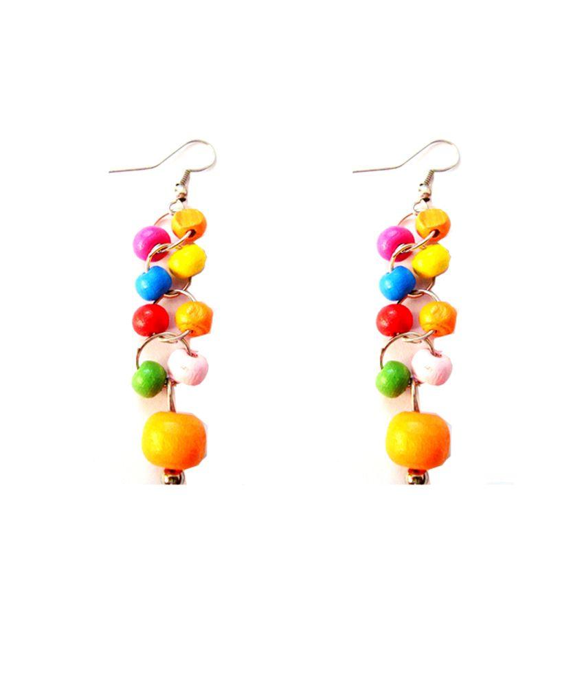 Beingwomen Multicolour Hanging Earring