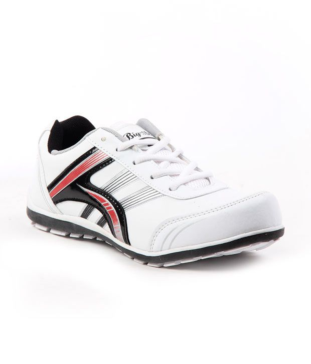E-adams Big Step White/red Sports Shoes