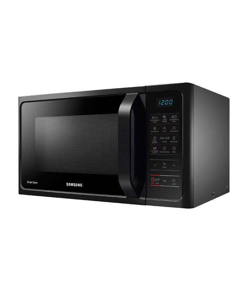 Samsung 28 Ltr Convection Mc28h5013ak Microwave Oven Black