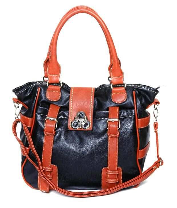 The Gud Look 10001915 Black Satchel Bags