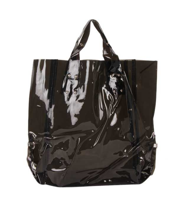 1 Bolzo Sumptuous Black Tote Bag