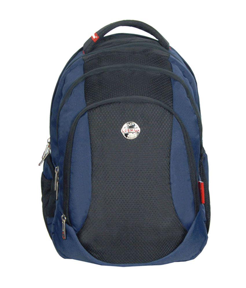 Cosmus Entreprises Navy Pluto Laptop Bags