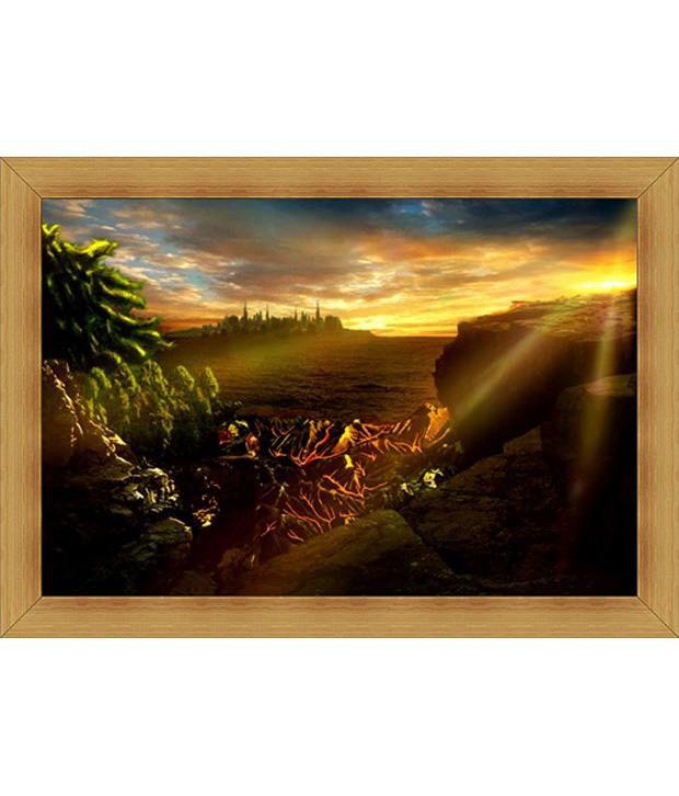 Jstarmart Photo Frame Morning Raga C198 12x18 Jsmph0026