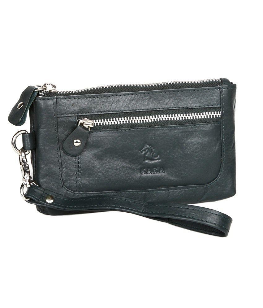 Kara 8028 Olive Formal Wallet