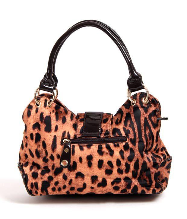 La Plaire Ravishing Animal Print Handbag
