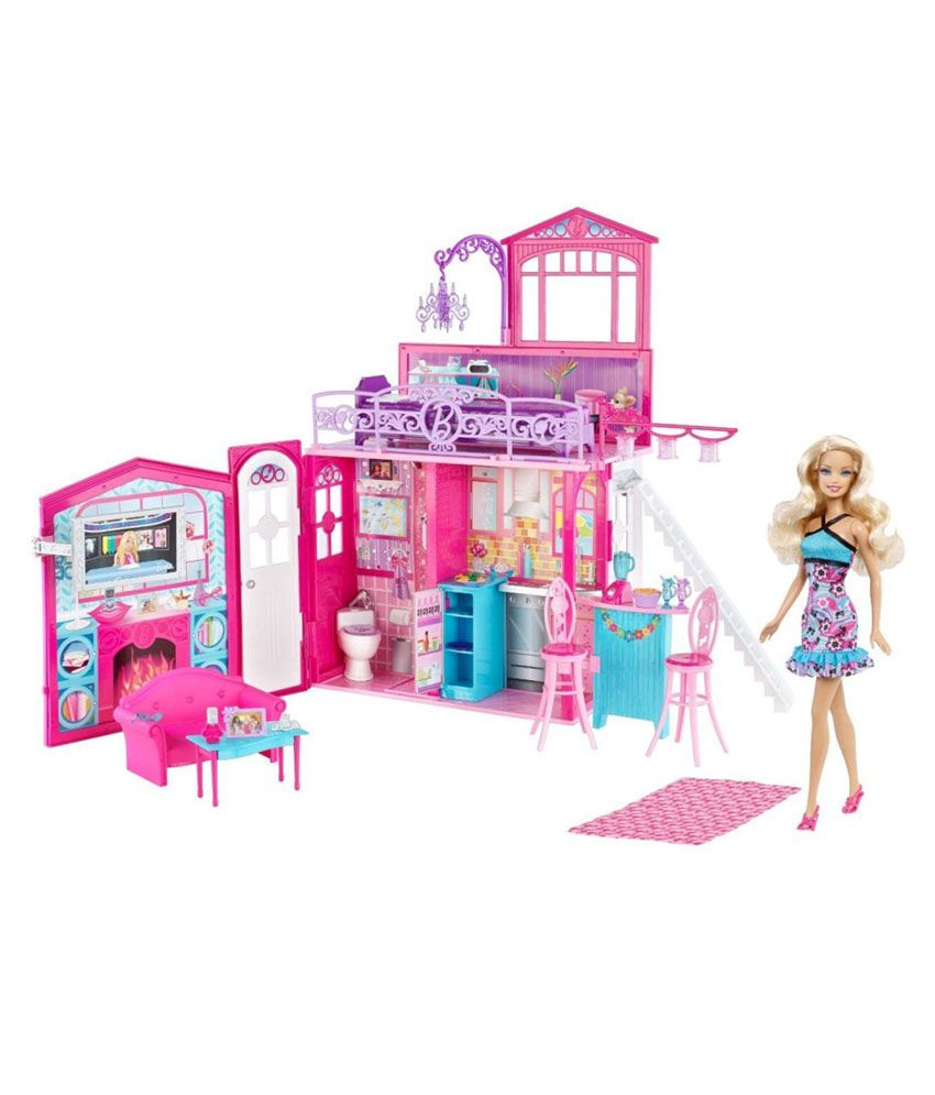 Barbie Glam Vacation Doll House Buy Barbie Glam Vacation