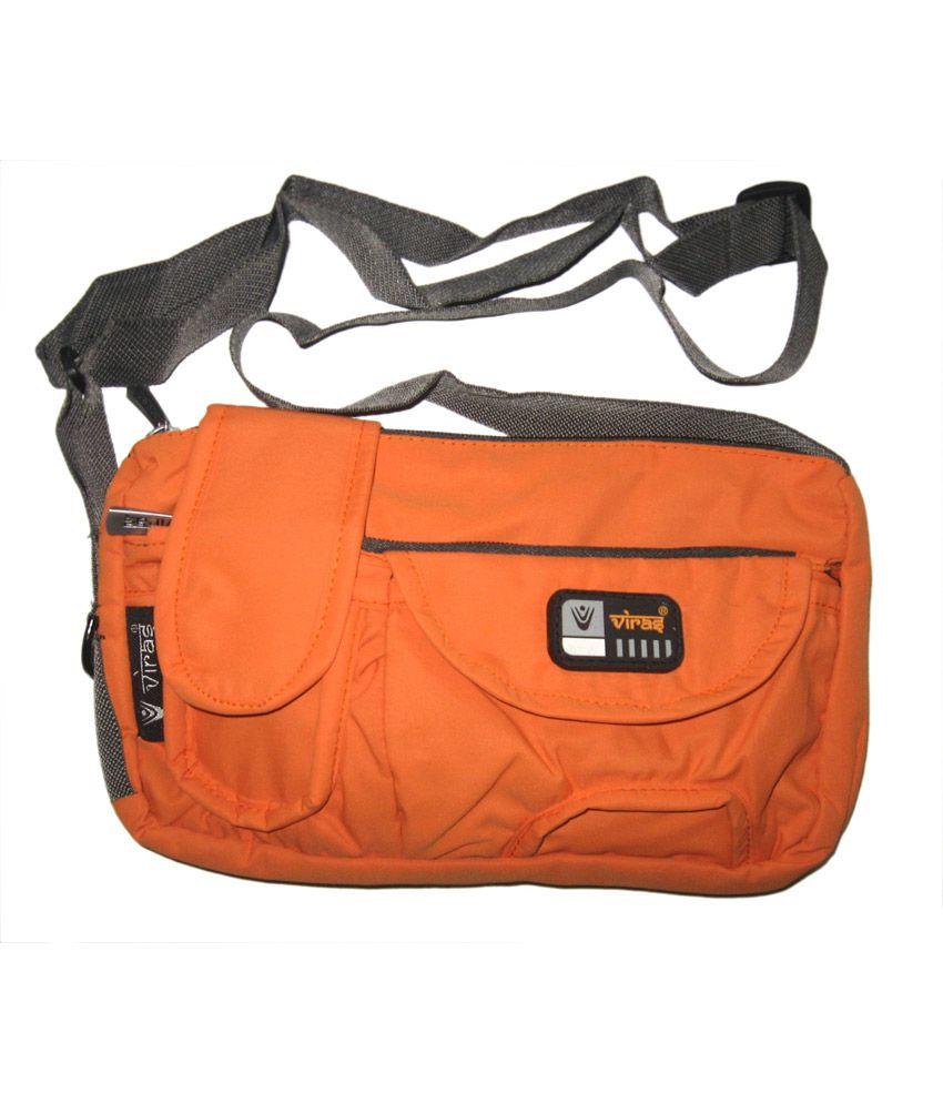 Viras Levis Sling Bag (Orange) - Buy Viras Levis Sling Bag (Orange ...