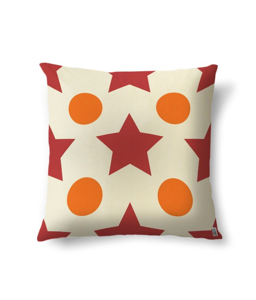 bluegape Stary Spots Digitally Printed Cushion Cover 1 Piece