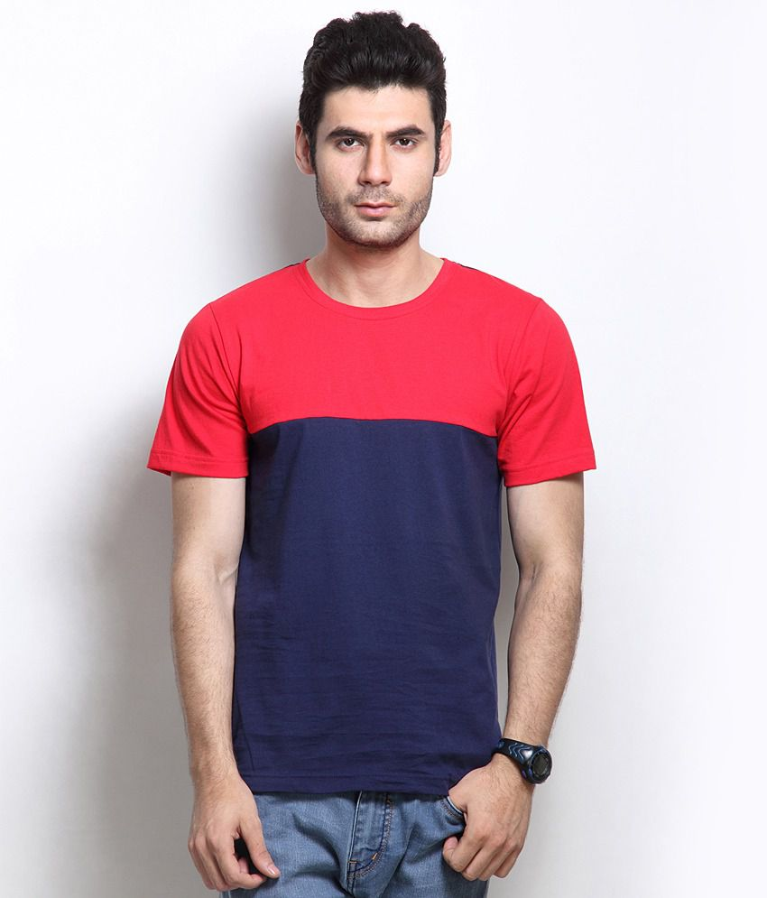 RIGO Navy Cotton  T-Shirt