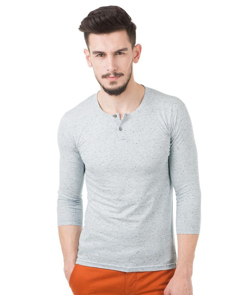 Freecultr Gray Polyester  T-Shirt