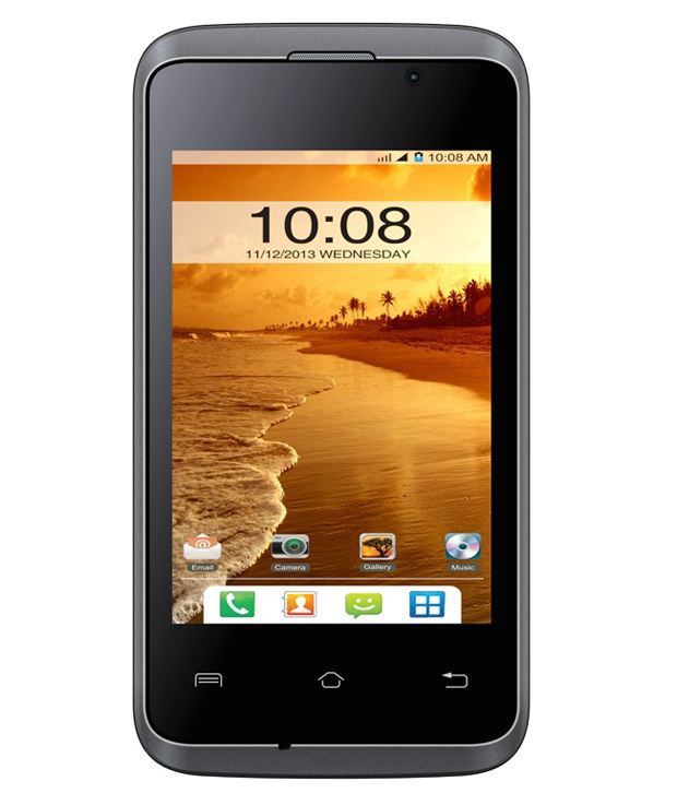 Intex AquaT3 (Grey-Silver) Mobile Phone