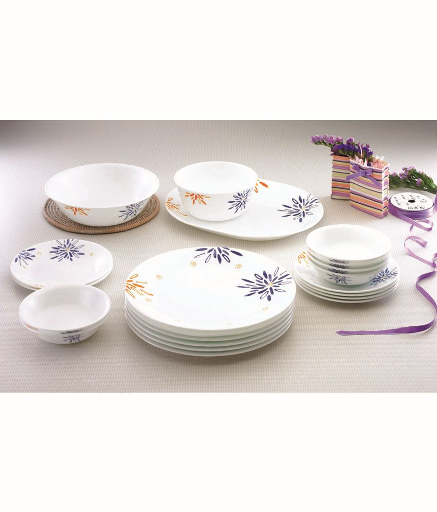 Corelle 21 Pcs Dinner Set- India Collection Carnival ...  sc 1 st  Snapdeal : corelle dinnerware india - Pezcame.Com