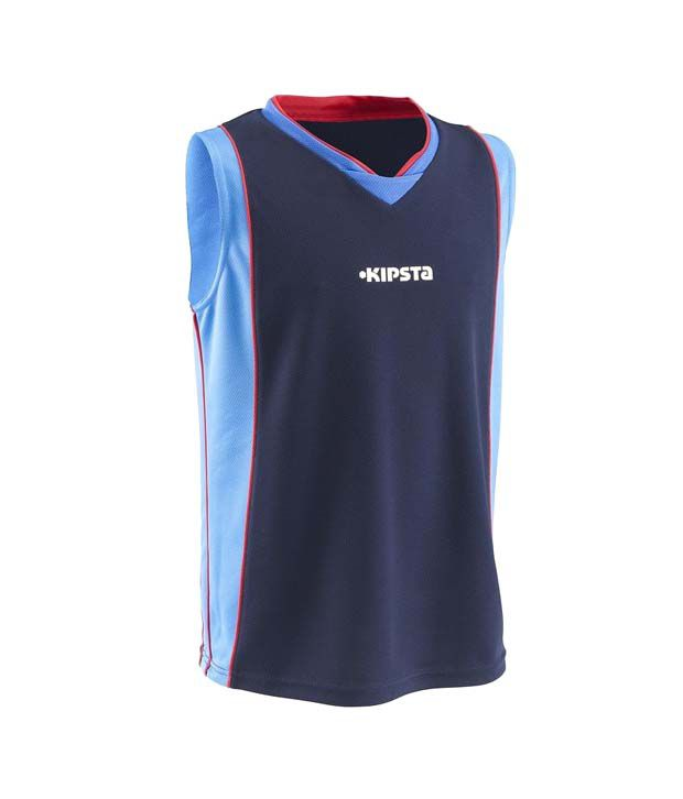 Kipsta Rookie Tank Navy Red Basketball Apparel 8220478