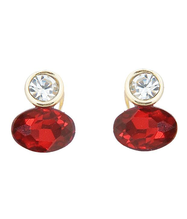 Youshine Fiery red earrings