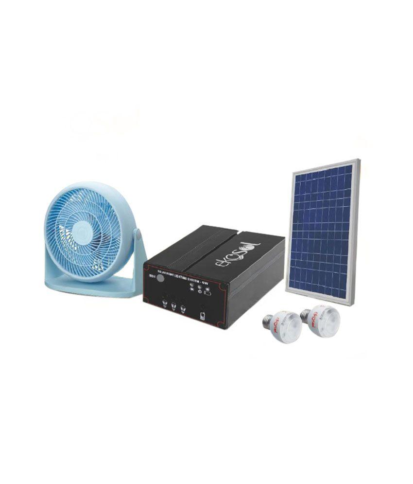 Ekosol 24 W Solar Home Lighting System Solar Emergency