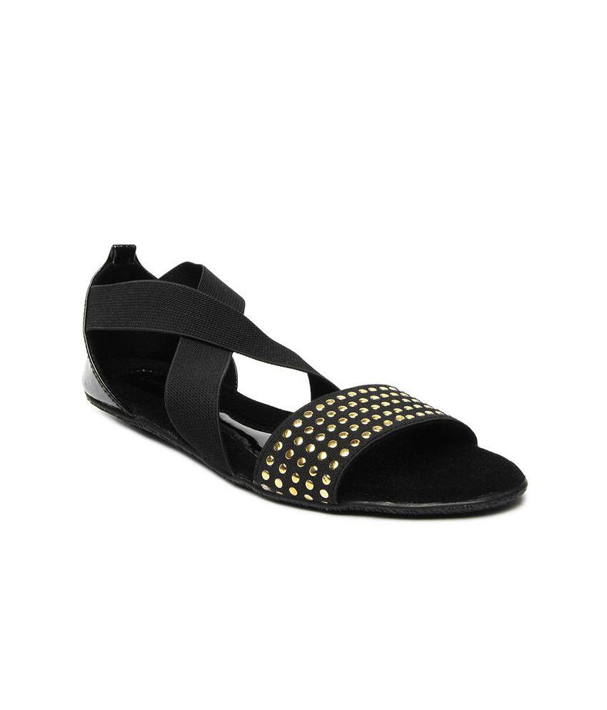 Lamere Black Sandal