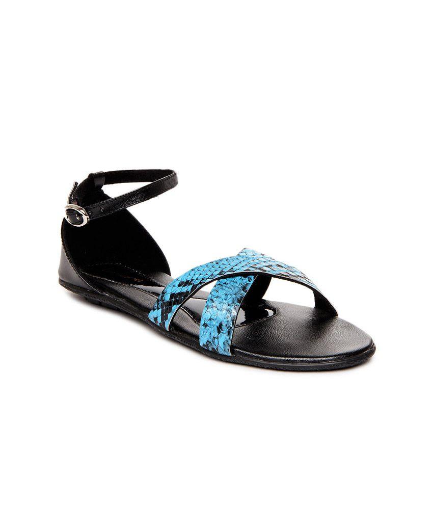 Lamere Blue Sandal