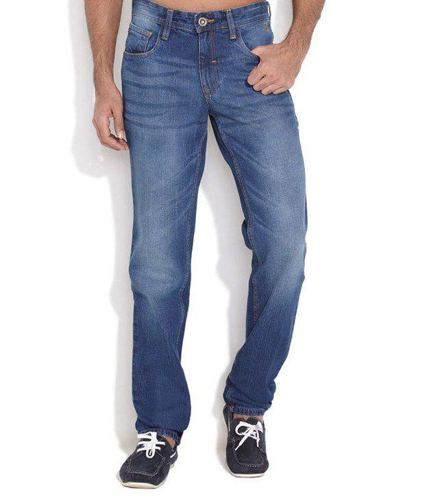 Nature Blue Slim Jeans