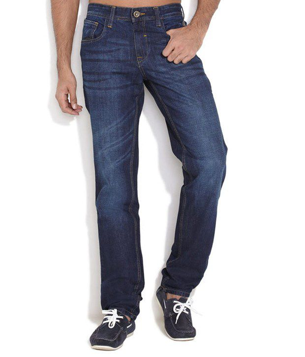Nature Blue Slim Jeans