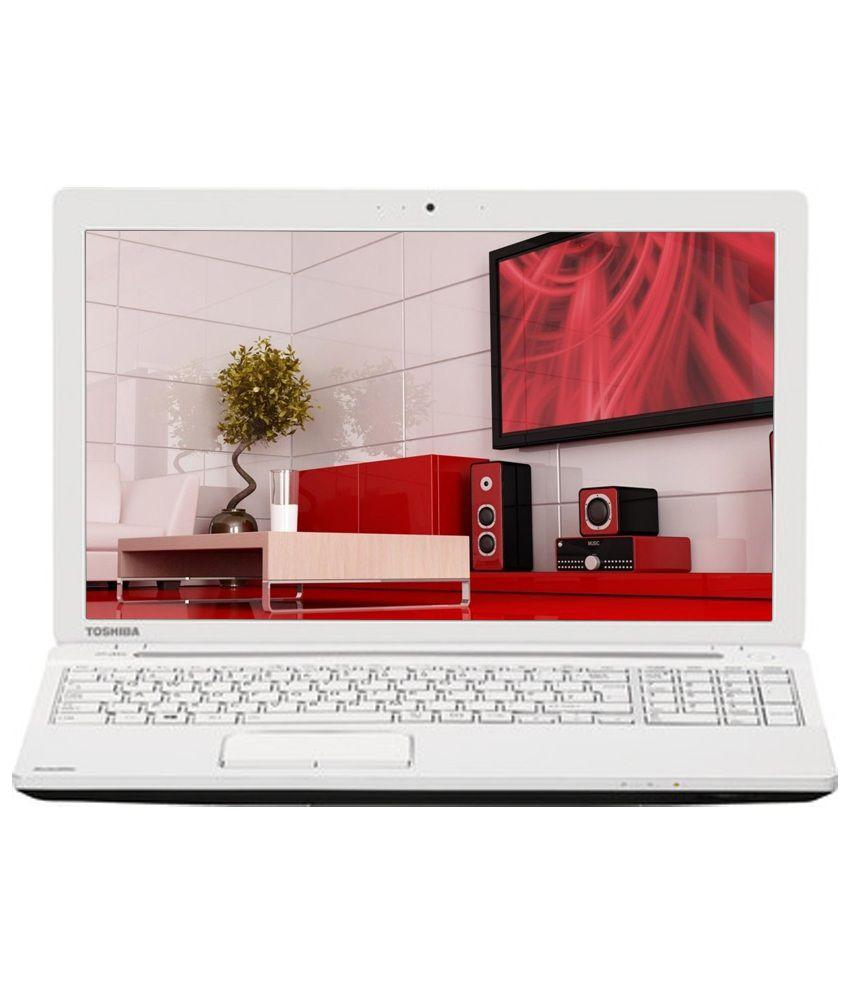 Toshiba Satellite C50-A I0116 Laptop (3rd Gen Intel Core i3- 4GB RAM- 500GB HDD- 39.62cm (15.6)- Windows 8.1) (Luxury White Pearl)