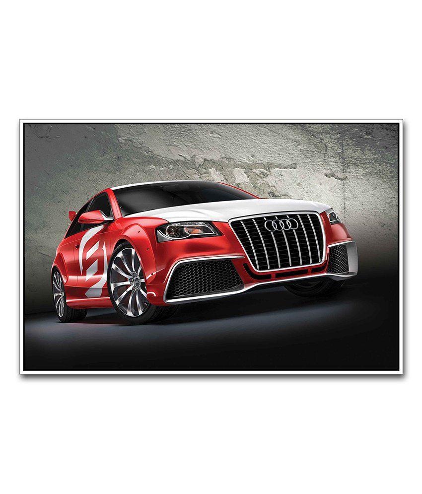 Artifa Audi Supercar Poster: Buy Artifa Audi Supercar