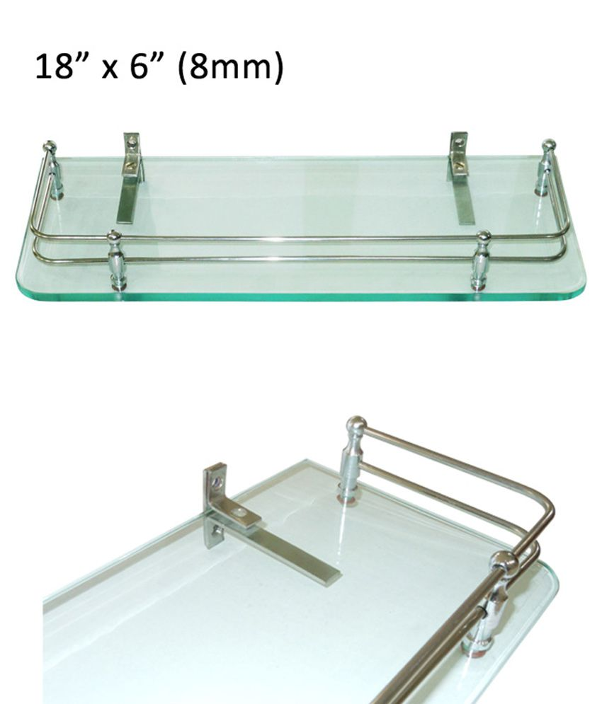 Buy Doyours 6x18 Inch Glass Shelf (8mm Clear) Online at Low Price in ...
