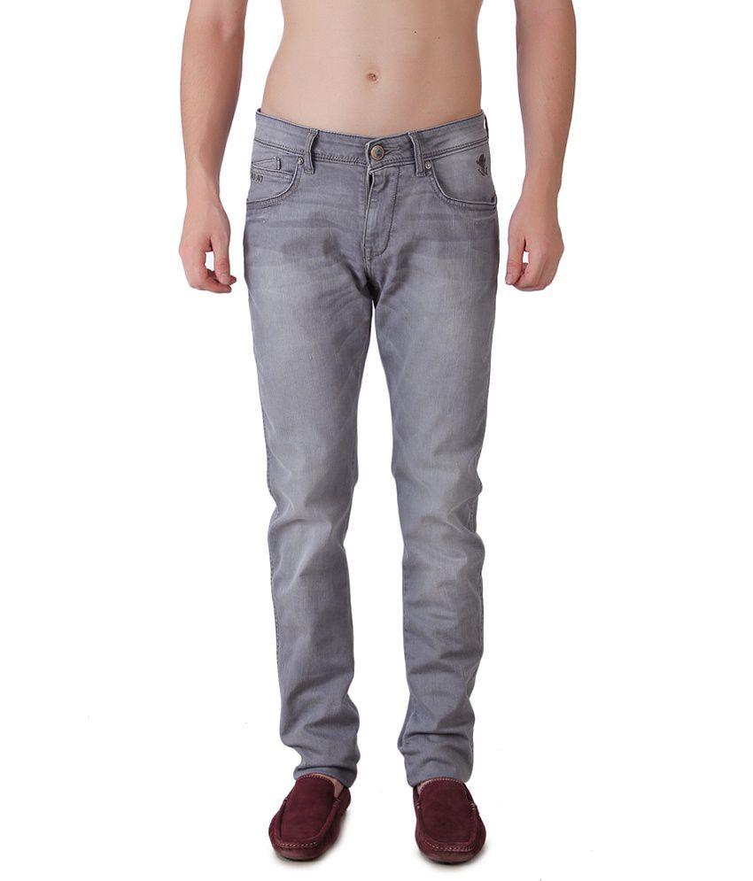 Wrangler Gray Regular Jeans