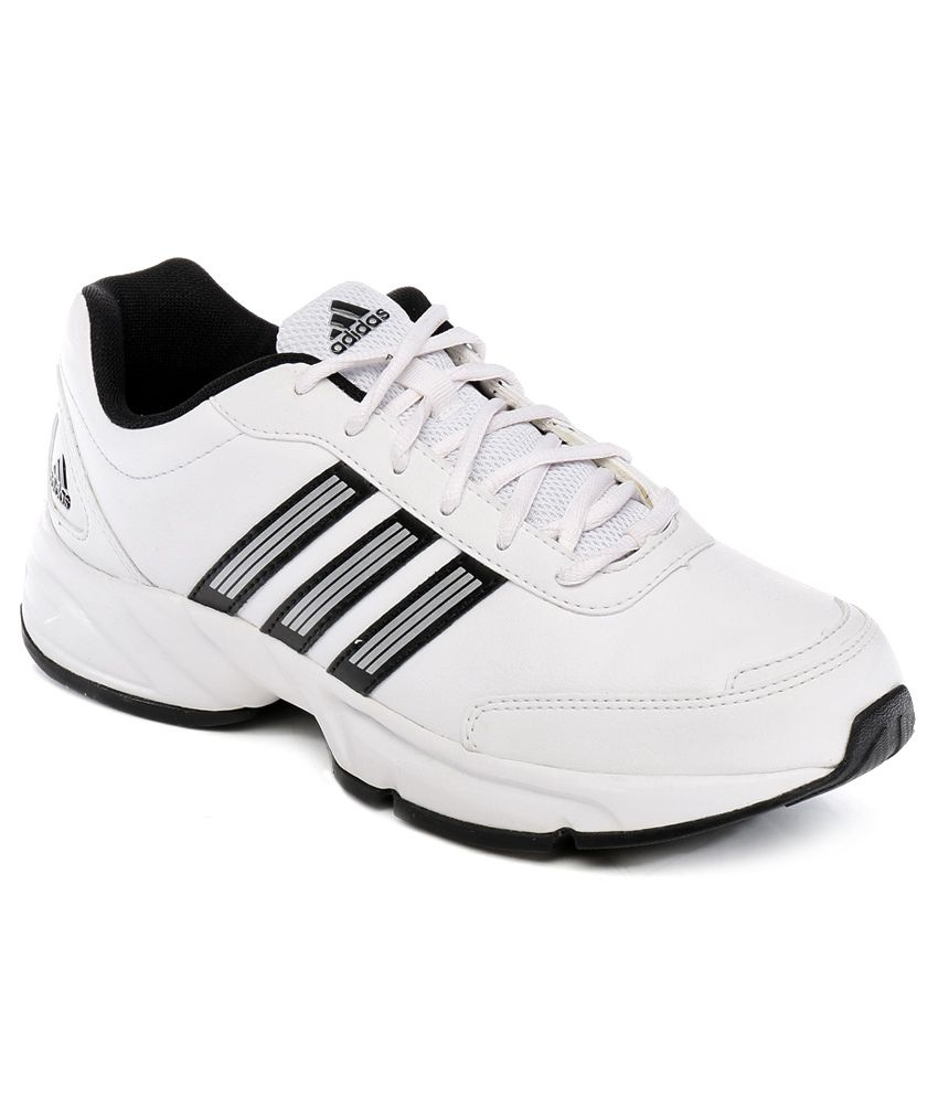 Adidas White Sport Shoes ...