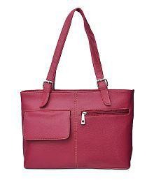 Arshia Red P.u. Shoulder Bag