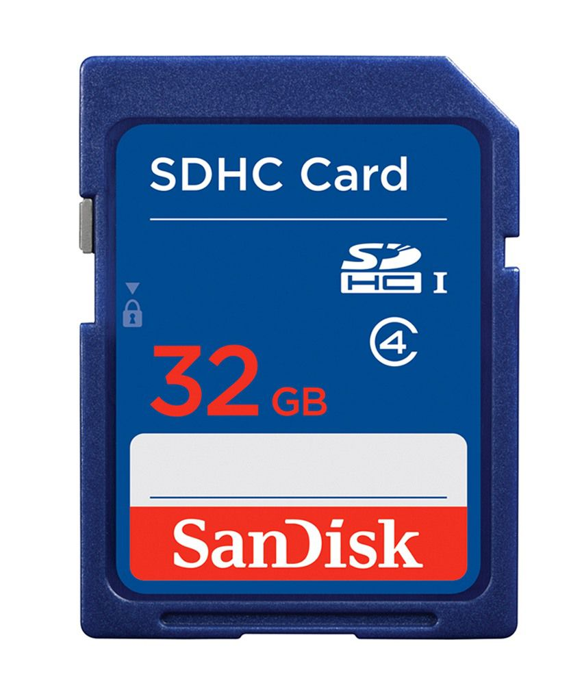 Sandisk SDHC 32 GB Memory Card