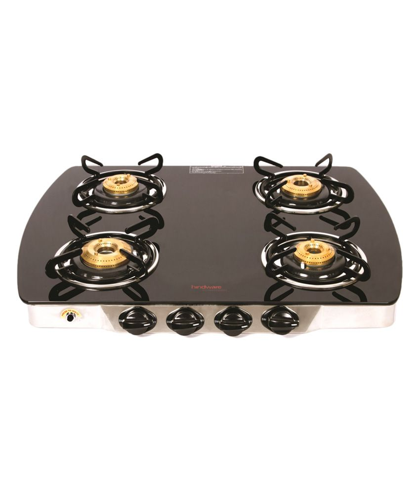Hindware Swift 4B 4 Burner Manual Ignition Gas Cooktop