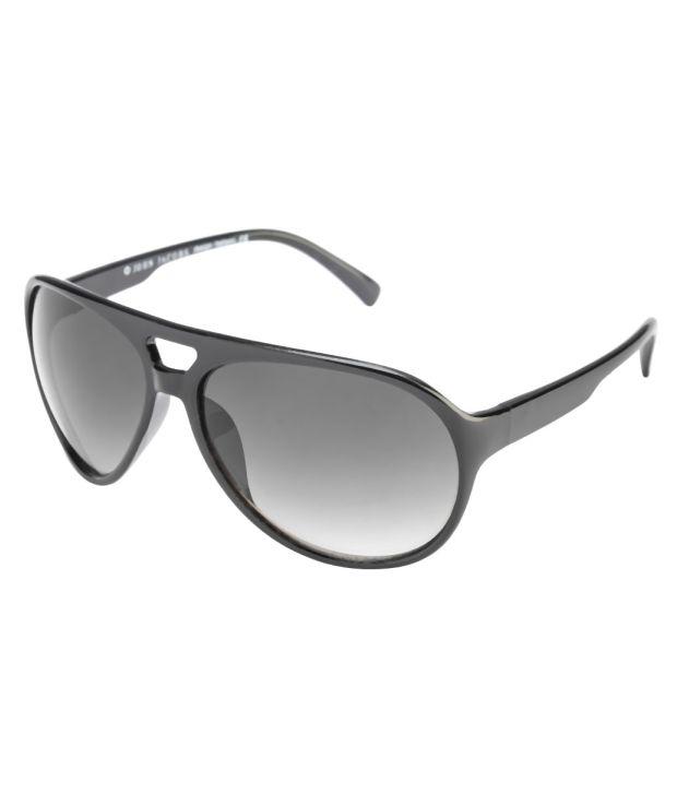 John Jacobs 94134 Unisex Aviator Sunglasses