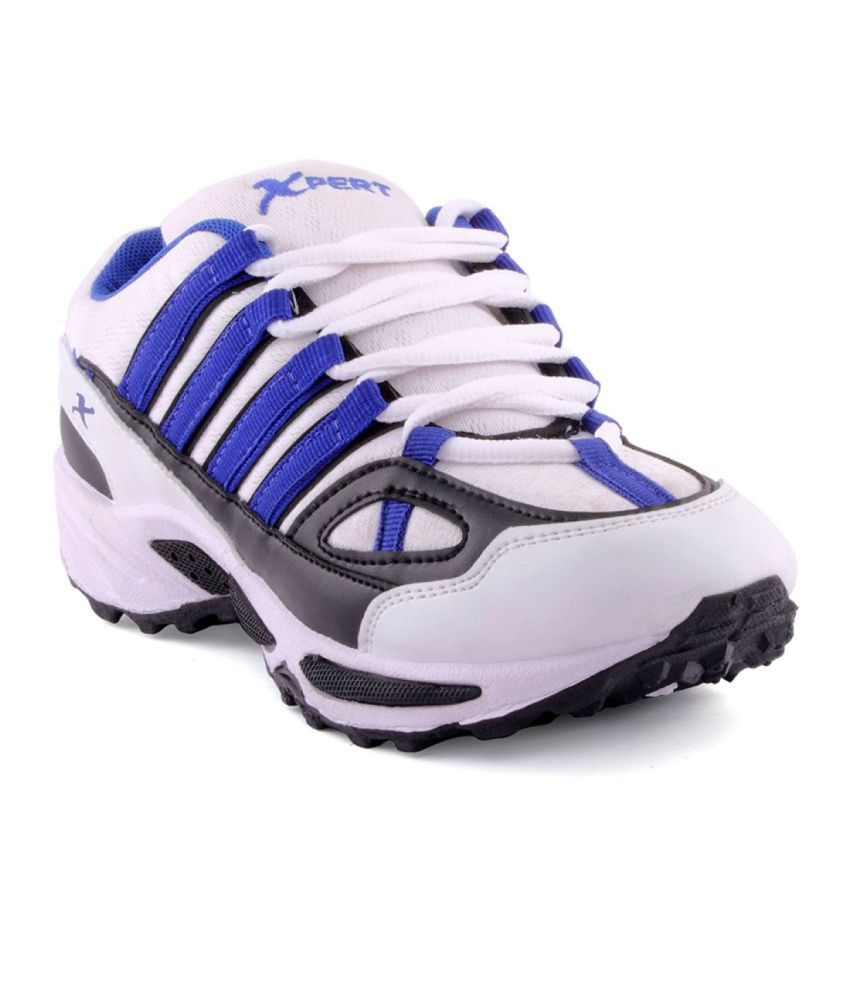 Xpert Water Blue & Black Sport Shoes