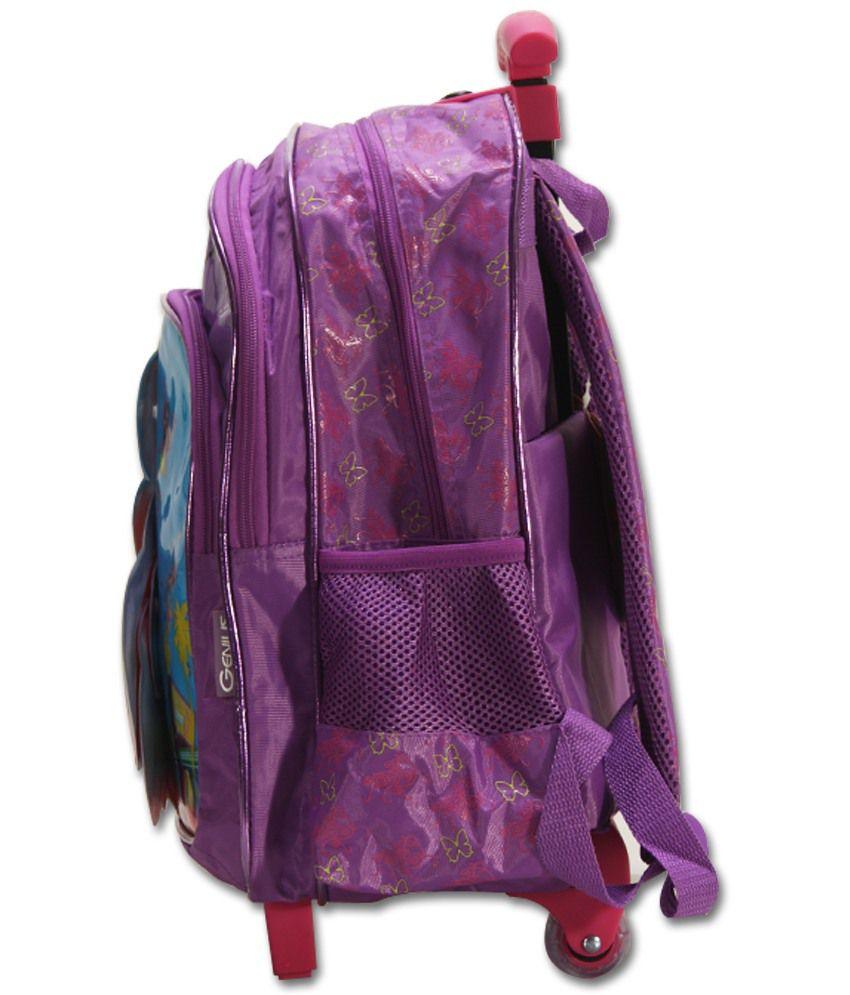 School bag ahmedabad gujarat - Barbie Kids Trolley Luge Bag 16 Oval Bb Bu001 8 Pink Lazada