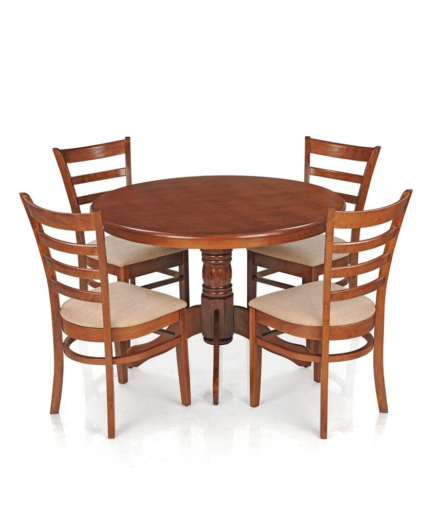 Royaloak Dining Table Set With 4