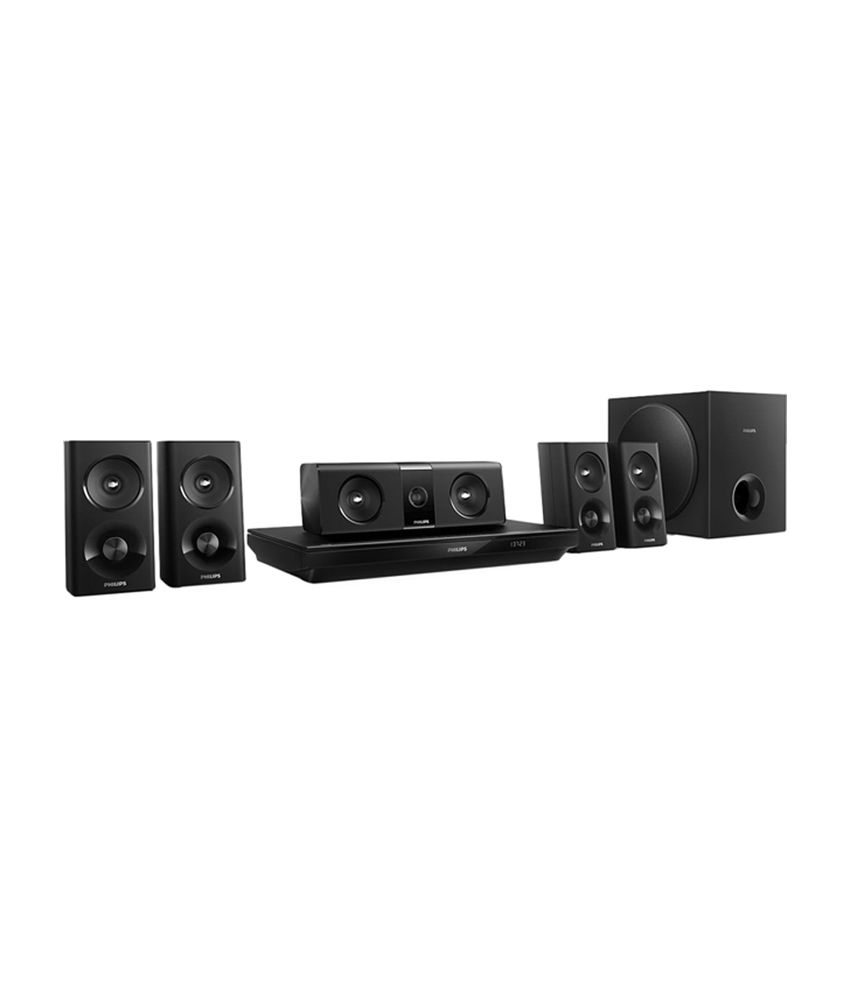 Buy Philips Htb352094 51 3d Blu Ray Home Theatre System Online At