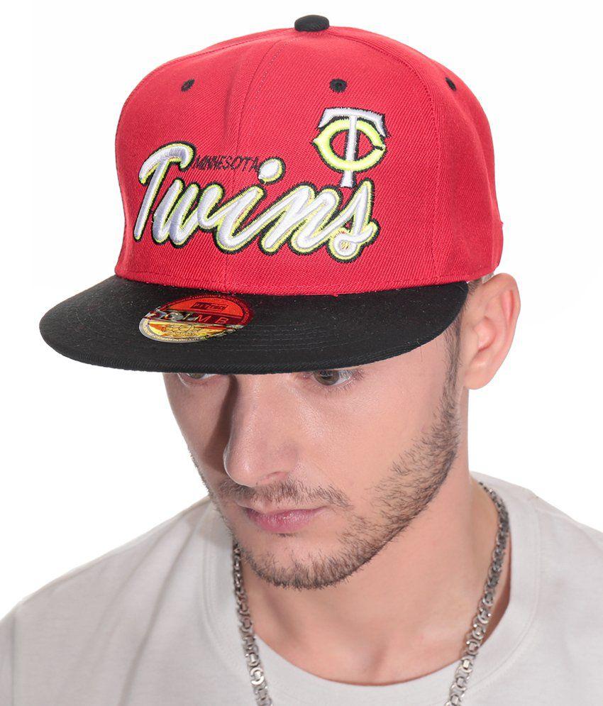 YOYO Red Cotton Baseball Cap Men No
