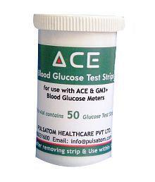 ACE ACE Glucose Test Strip - 50's 12/2018