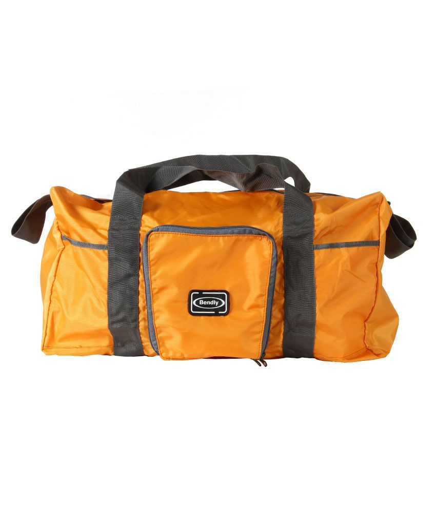 Bendly Yellow Folding Travel Bag - Buy Bendly Yellow Folding ...