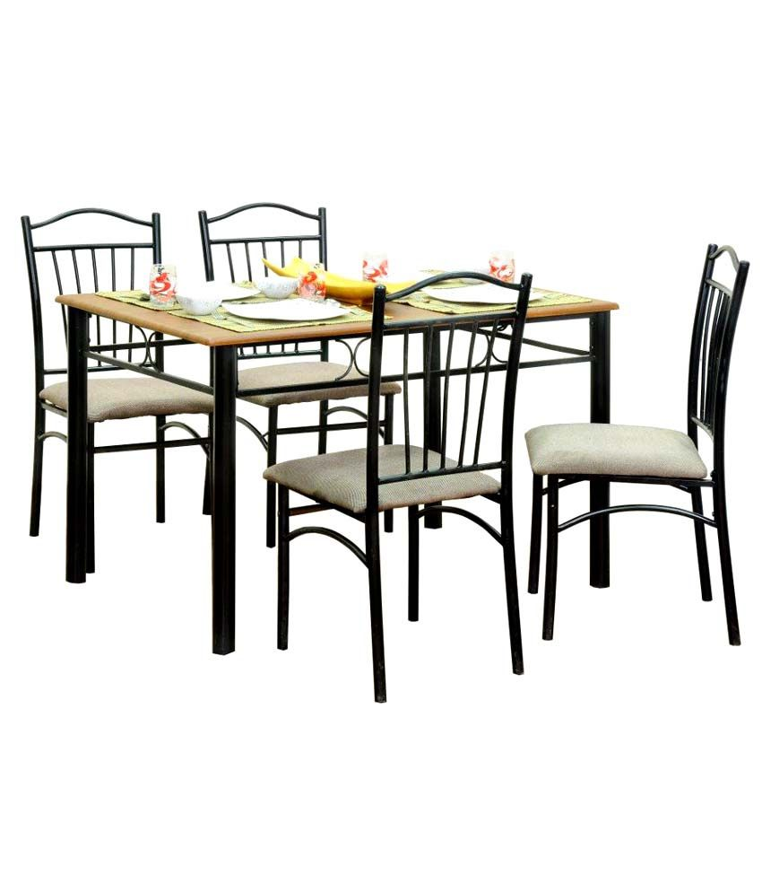 FurnitureKraft FK 4 Seater Dining Set with Wooden Top  : FK 4 Seater Dining Set SDL086665291 1 dda17 from www.snapdeal.com size 850 x 995 jpeg 69kB