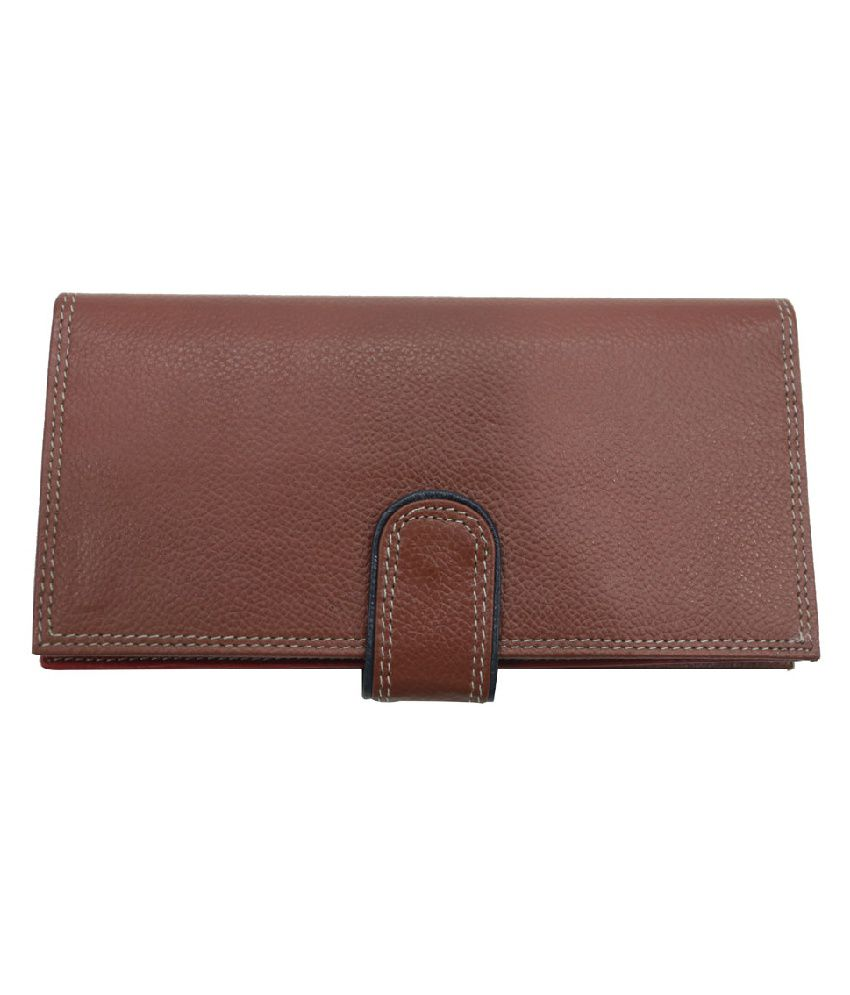 Mex Tan Leather Casual Regular Wallet