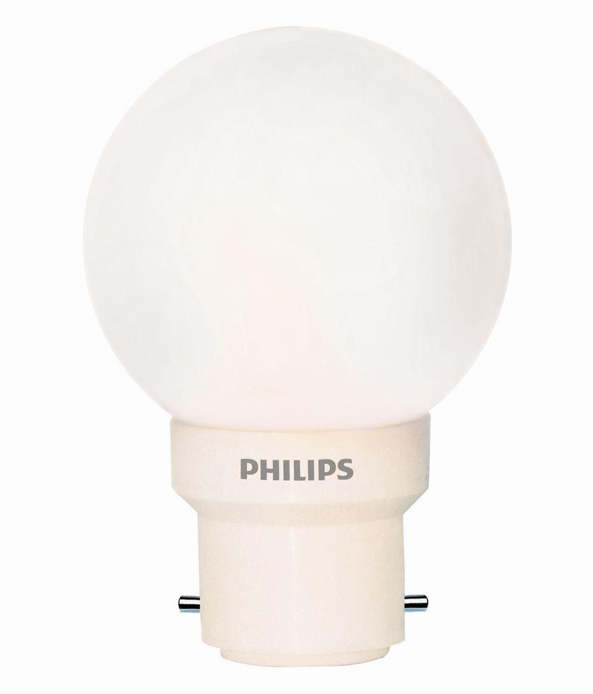 Philips 0 5w Led Bulb Pack Of 6