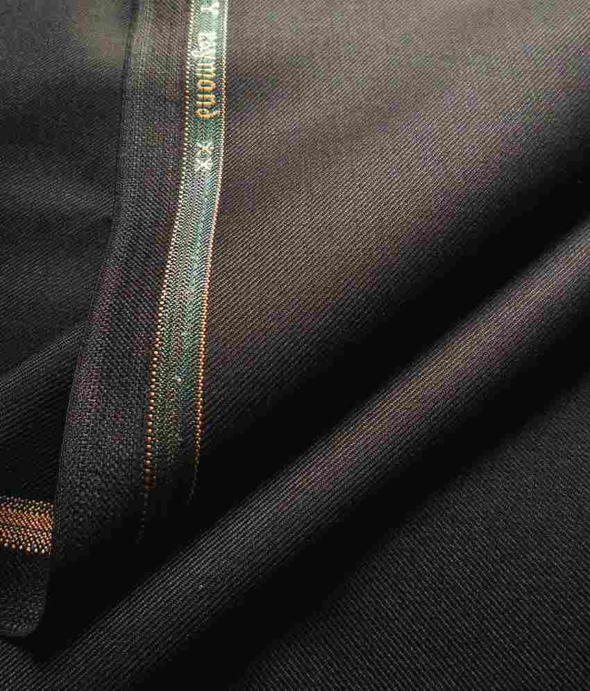 Raymond Premium Black Unstitched Pant Pc