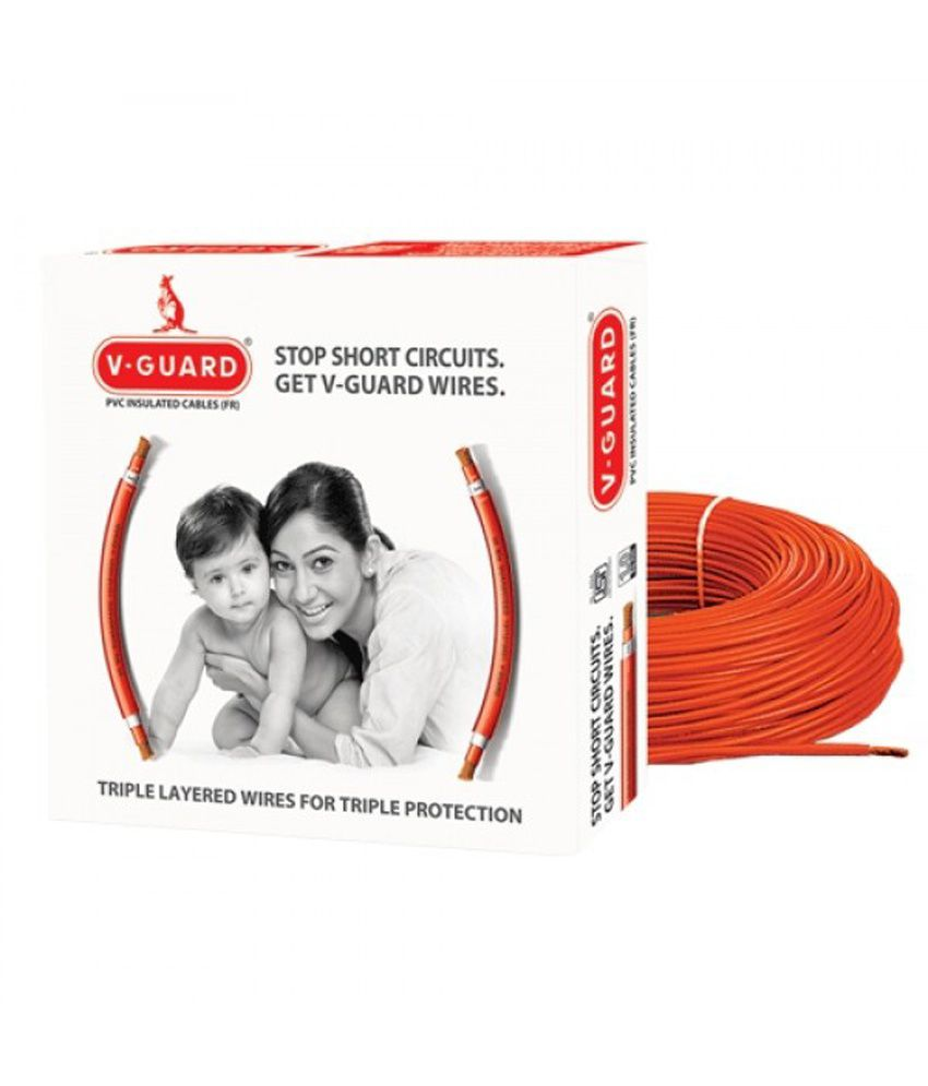 Buy V Guard Wires Cables 100 Mm Online At Low Price In India Fr House Wiring Cable Exporter Manufacturer