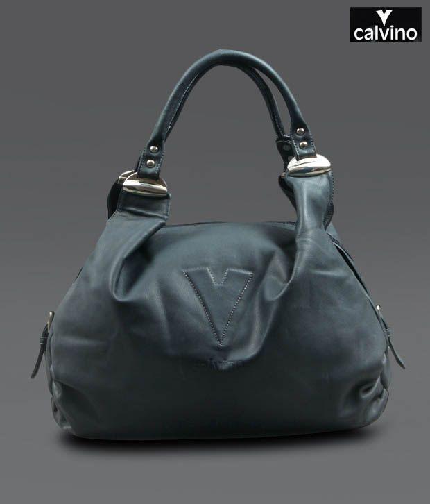 Calvino Victorious Blue Handbag